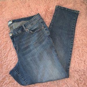 Torrid Denim Boyfriend Skinny Ankle Jeans